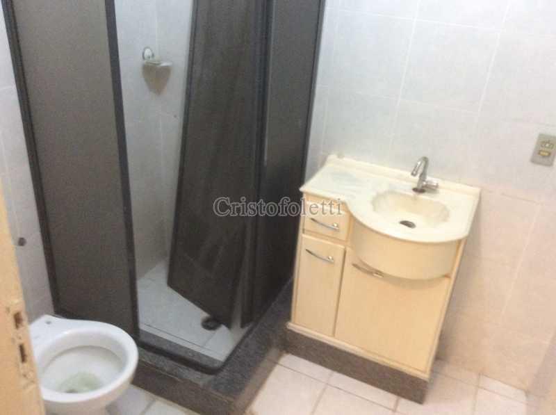 Banheiro social - Apartamento 2 dormitórios amplo próximo ao metrô Praça da Árvore - ISLO0111 - 16