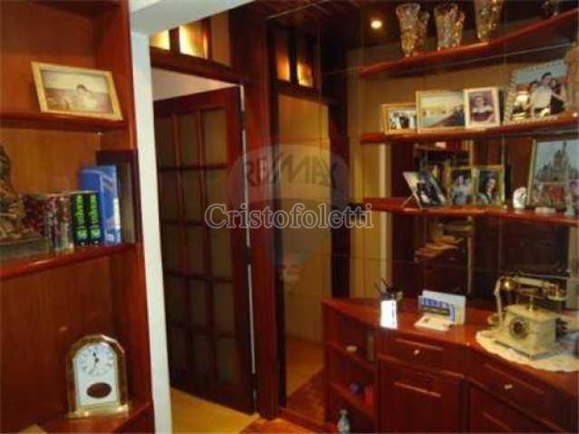 Antessala de entrada. - Apartamento À Venda - São Paulo - SP - Vila Clementino - CAVE0016 - 4