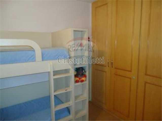 Dormitório e armário. - Apartamento À Venda - São Paulo - SP - Vila Clementino - CAVE0016 - 8