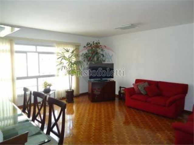 Sala ampla, luz e lindo piso. - Apartamento À Venda - São Paulo - SP - Vila Clementino - CAVE0016 - 1