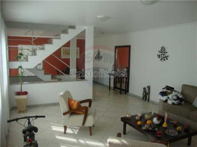 A sala e sua charmosa escadari - Casa Rua Backer,São Paulo,Zona Centro,Cambuci,SP À Venda,3 Quartos,200m² - CAVE0004 - 1