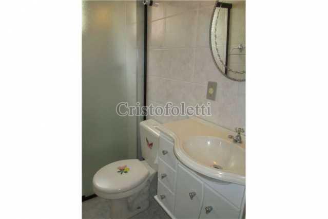 Banheiro social - Apartamento PARA ALUGAR, Parque Nossa Senhora da Candelária, Itu, SP - ISLO0018 - 6