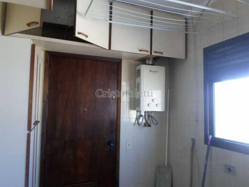 Área de serviço / aquecedor - Apartamento com 3 dormitórios para alugar no metrô Sacomã - ISVL0025 - 26