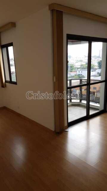 Sala com 2 ambientes e sacada - Apartamento com 3 dormitórios para alugar no metrô Sacomã - ISVL0025 - 3