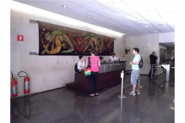 recepção - Sala Comercial 79m² à venda Rua Líbero Badaró,São Paulo,SP - R$ 300.000 - ISVE0028 - 3