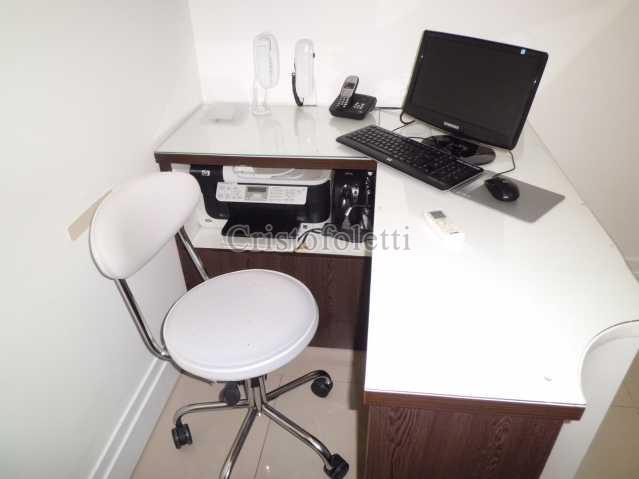 estação recepcionista - Sala Comercial Para Alugar no Condomínio Top Towers Offices - São Paulo - SP - Vila Mariana - ISLO0031 - 3