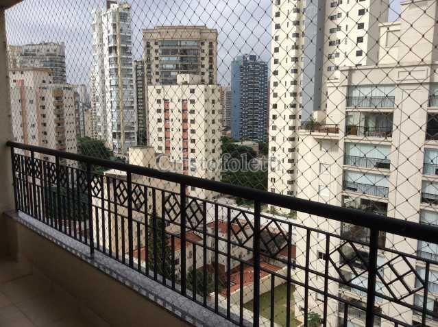 Vista panorâmica da frente - Apartamento 3 quartos para alugar São Paulo,SP - R$ 4.300 - ISVL0046 - 8