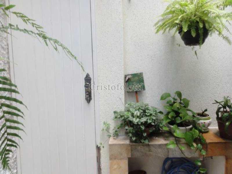 Quintal descoberto - Casa À VENDA, Vila Moinho Velho, São Paulo, SP - ISVL0049 - 9