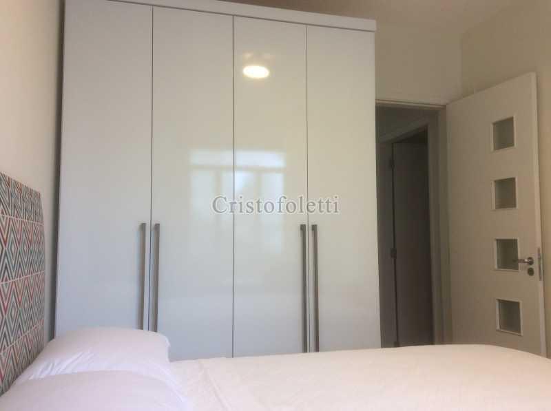 Dormitório casal - Apartamento mobiliado 2 dormitórios na Aclimação - ISLO0050 - 18