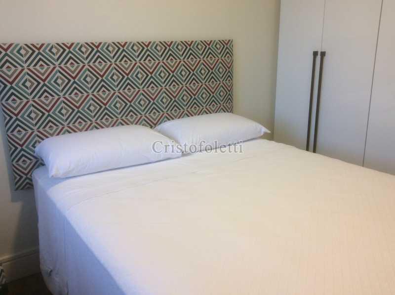 Dormitório casal - Apartamento mobiliado 2 dormitórios na Aclimação - ISLO0050 - 14