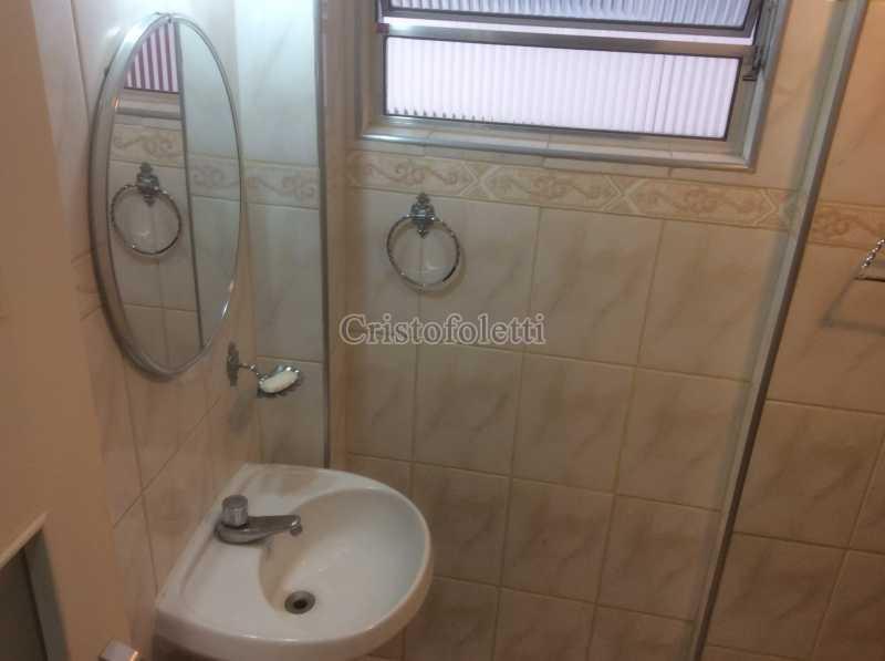 Banheiro - Apartamento mobiliado 2 dormitórios na Aclimação - ISLO0050 - 17