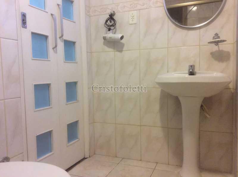 Banheiro - Apartamento mobiliado 2 dormitórios na Aclimação - ISLO0050 - 19