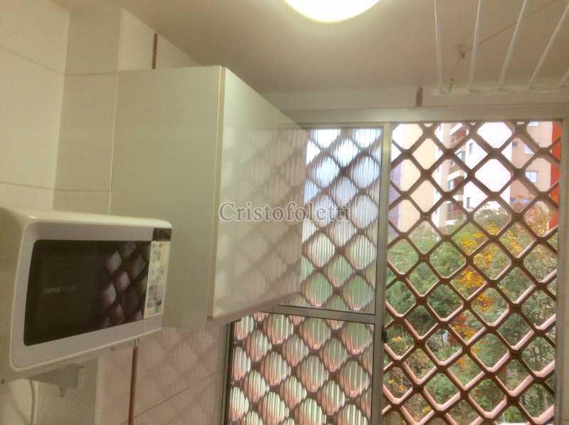 Área de serviço - Apartamento mobiliado 2 dormitórios na Aclimação - ISLO0050 - 22