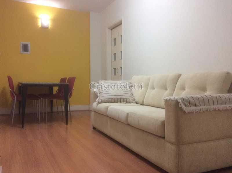 Sala 2 ambientes - Apartamento mobiliado 2 dormitórios na Aclimação - ISLO0050 - 1