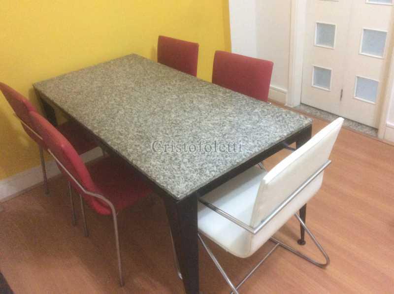 Jantar - Apartamento mobiliado 2 dormitórios na Aclimação - ISLO0050 - 4