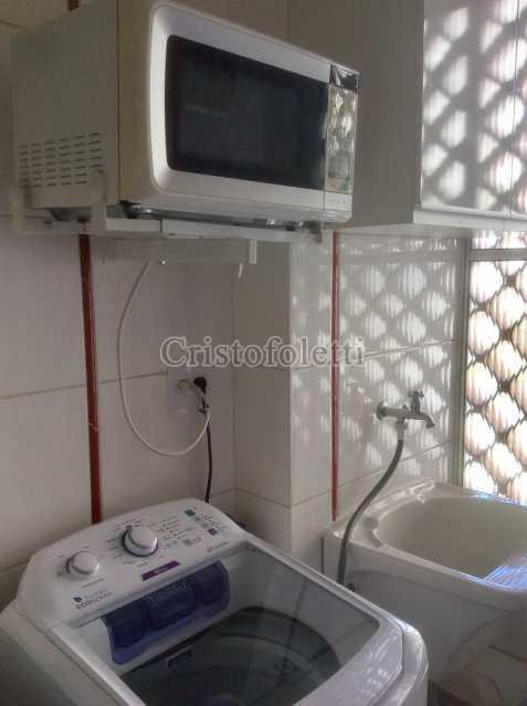 Área de serviço - Apartamento mobiliado 2 dormitórios na Aclimação - ISLO0050 - 26