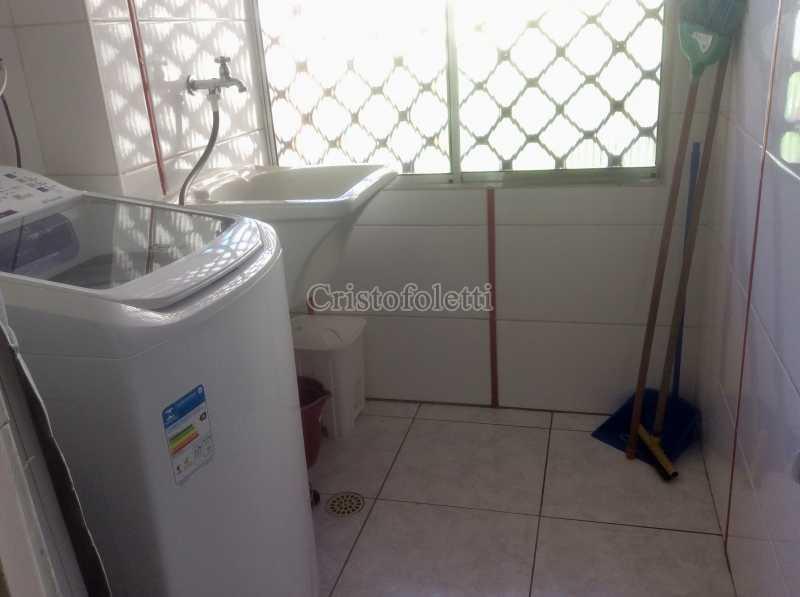 Área de serviço - Apartamento mobiliado 2 dormitórios na Aclimação - ISLO0050 - 27