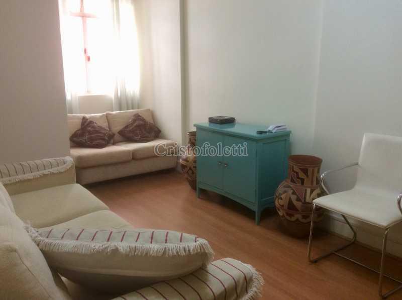 Estar - Apartamento mobiliado 2 dormitórios na Aclimação - ISLO0050 - 6