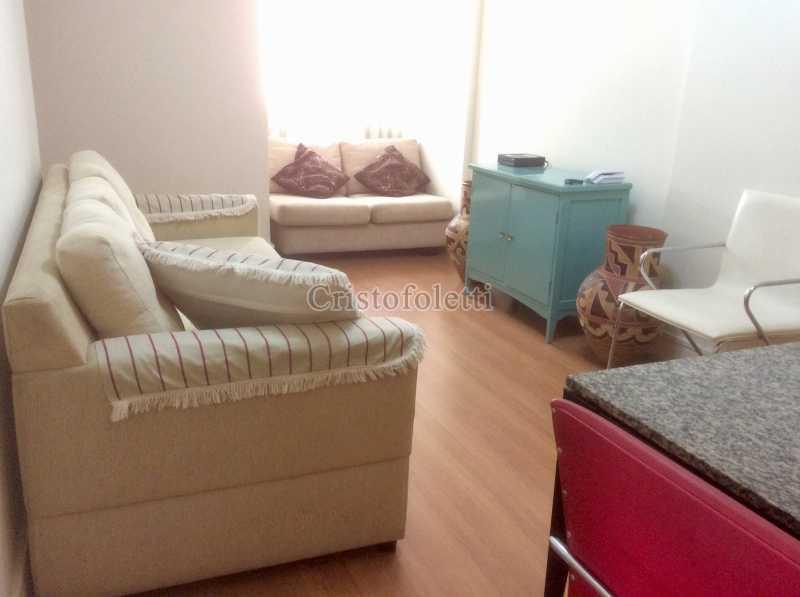 Estar - Apartamento mobiliado 2 dormitórios na Aclimação - ISLO0050 - 5