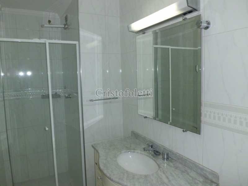 banho suíte - Apartamento 3 dormitório metrô Santa Cruz para alugar - ISLO0055 - 13