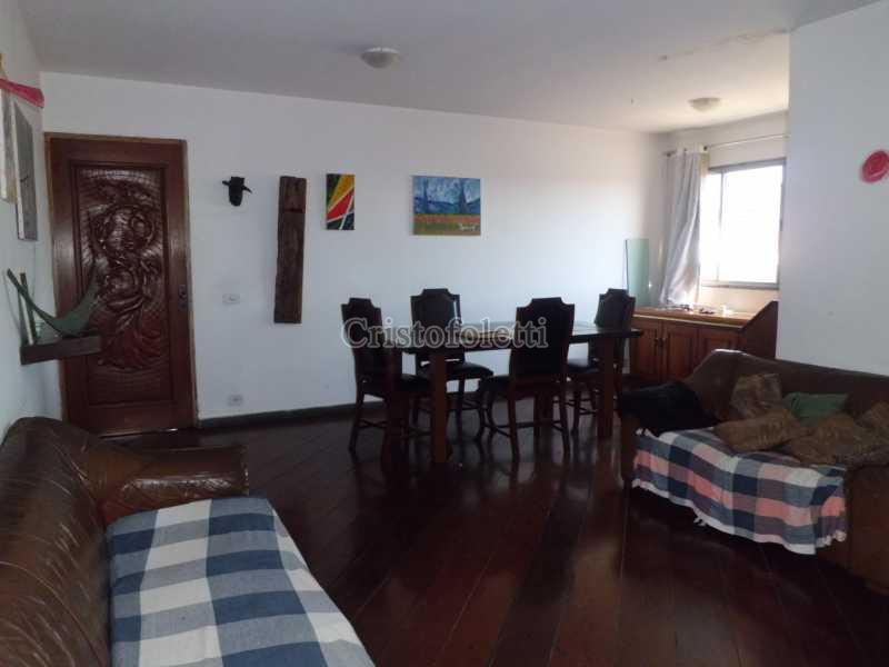 Sala em L - Apartamento duplex com salão e vista privilegiada ao lado do metrô e centro de convenções imigrantes - ISLO0056 - 3