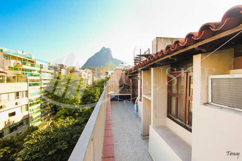 sem título-28 - Cobertura à venda Avenida General San Martin,Leblon, Rio de Janeiro - R$ 4.300.000 - COB0127 - 1