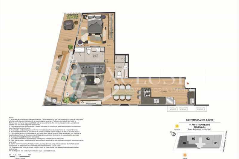 d55c5993d4e883de8c3b2f29cc5339 - Apartamento à venda Rua Marquês de São Vicente,Gávea, Rio de Janeiro - R$ 1.900.000 - SL2870 - 17