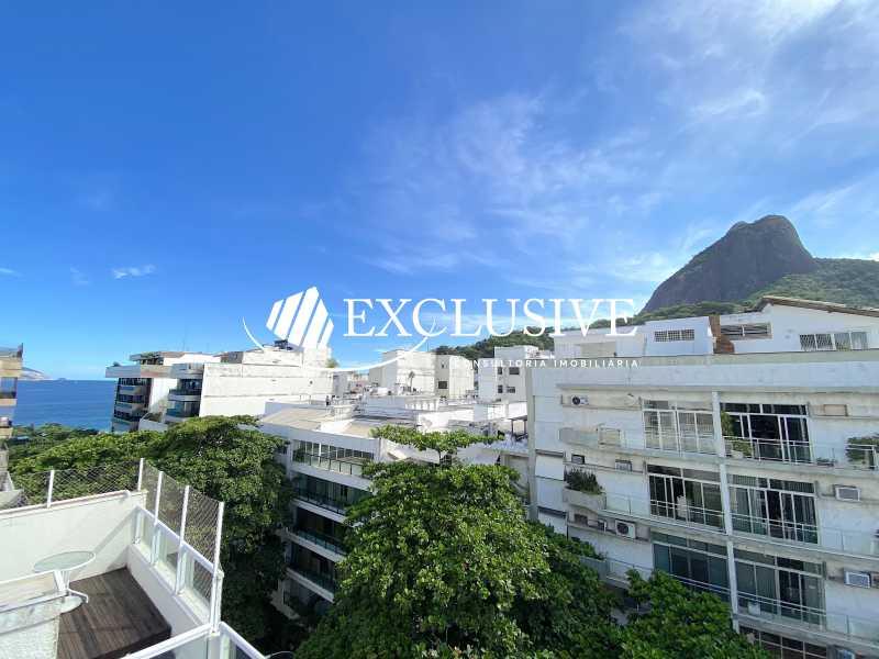 IMG_2707 - Cobertura para venda e aluguel Rua Aristides Espinola,Leblon, Rio de Janeiro - R$ 7.500.000 - COB0177 - 1