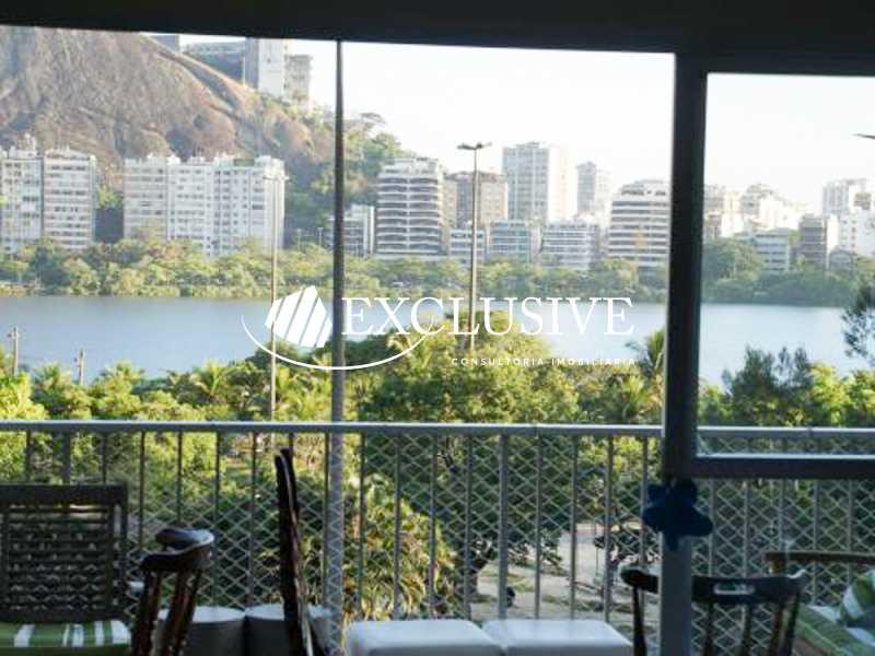 5 - Apartamento à venda Avenida Epitácio Pessoa,Lagoa, Rio de Janeiro - R$ 2.400.000 - SL21007 - 1