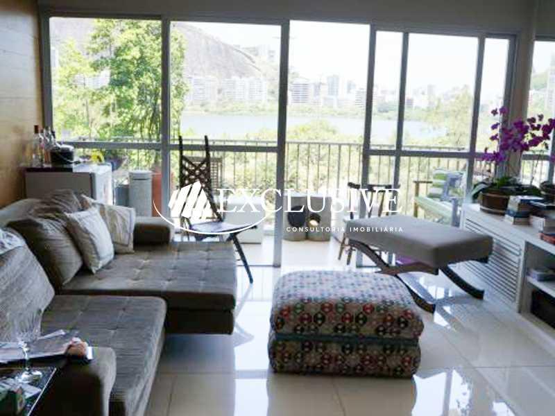 12 - Apartamento à venda Avenida Epitácio Pessoa,Lagoa, Rio de Janeiro - R$ 2.400.000 - SL21007 - 3