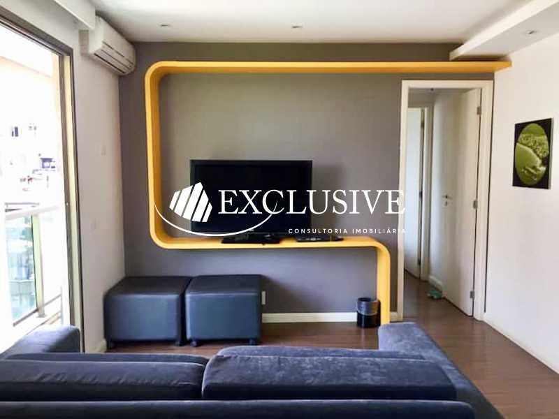cf20d06b-210f-42a2-bfe6-6e1575 - Flat à venda Rua Francisco Otaviano,Copacabana, Rio de Janeiro - R$ 850.000 - SL1709 - 3