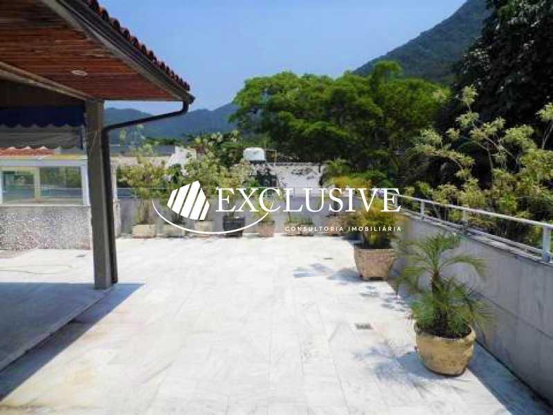 b0d7c01495ce7bbbfe04c0b8ceb9b6 - Casa em Condomínio para venda e aluguel Rua Pacheco Leão,Jardim Botânico, Rio de Janeiro - R$ 6.000.000 - SL5158 - 1