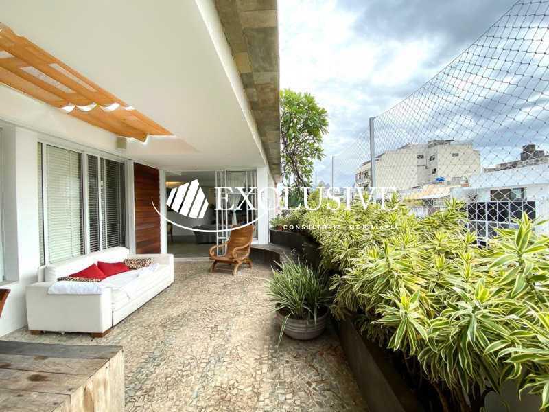 411_G1617659845 - Cobertura para venda e aluguel Avenida Rainha Elizabeth da Bélgica,Ipanema, Rio de Janeiro - R$ 3.200.000 - COB0243 - 1