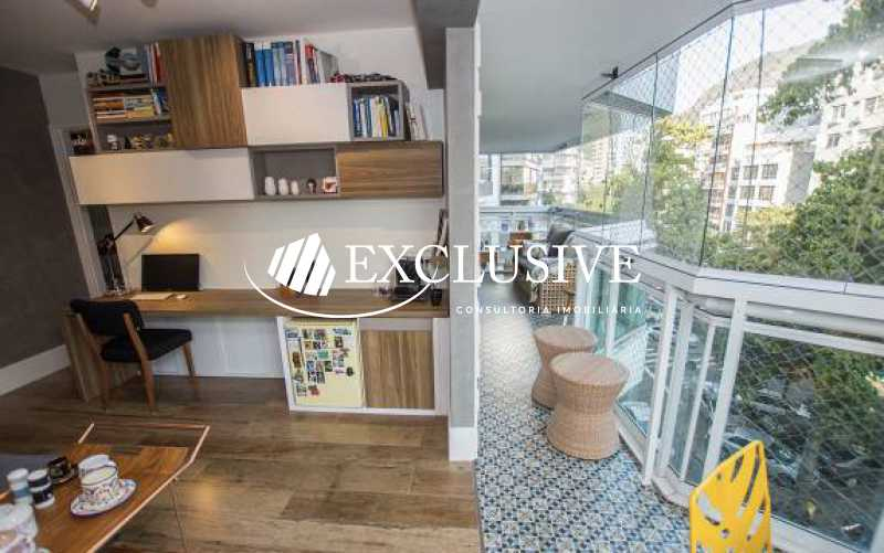 8 - Apartamento à venda Avenida Lineu de Paula Machado,Jardim Botânico, Rio de Janeiro - R$ 2.085.000 - SL3936 - 6