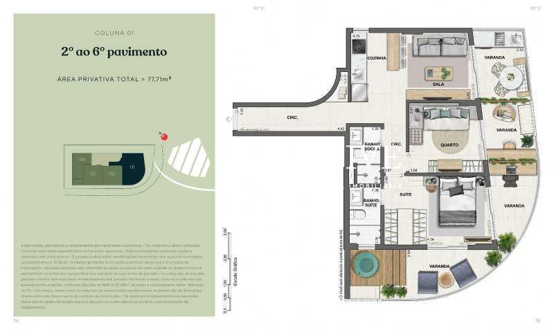 20201204014950-book_flora0038_ - Apartamento à venda Rua Jardim Botânico,Jardim Botânico, Rio de Janeiro - R$ 1.344.434 - SL21096 - 16
