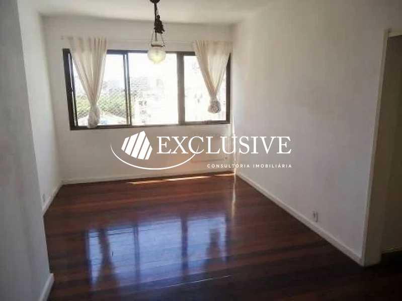 1 - Apartamento à venda Rua General Rabelo,Gávea, Rio de Janeiro - R$ 1.200.000 - SL21097 - 3