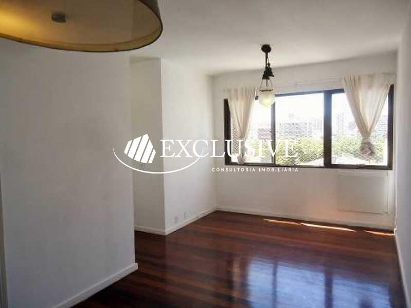 2 - Apartamento à venda Rua General Rabelo,Gávea, Rio de Janeiro - R$ 1.200.000 - SL21097 - 1