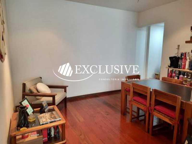 1 - Apartamento à venda Rua Pio Correia,Jardim Botânico, Rio de Janeiro - R$ 1.190.000 - SL21105 - 1