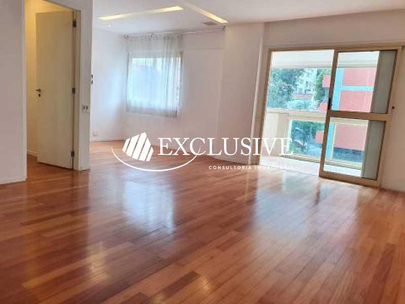 1 - Apartamento à venda Rua Maria Angélica,Jardim Botânico, Rio de Janeiro - R$ 1.900.000 - SL3955 - 4