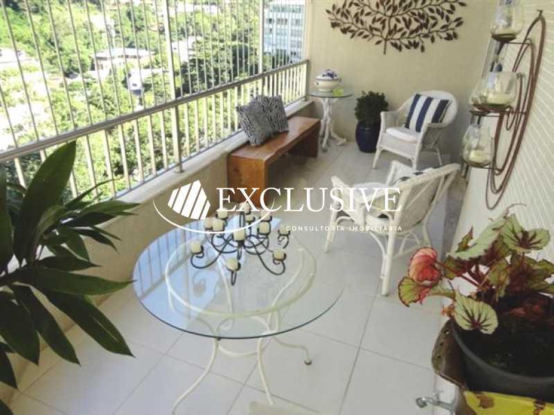 17 - Apartamento à venda Rua Osório Duque Estrada,Gávea, Rio de Janeiro - R$ 1.450.000 - SL30060 - 4