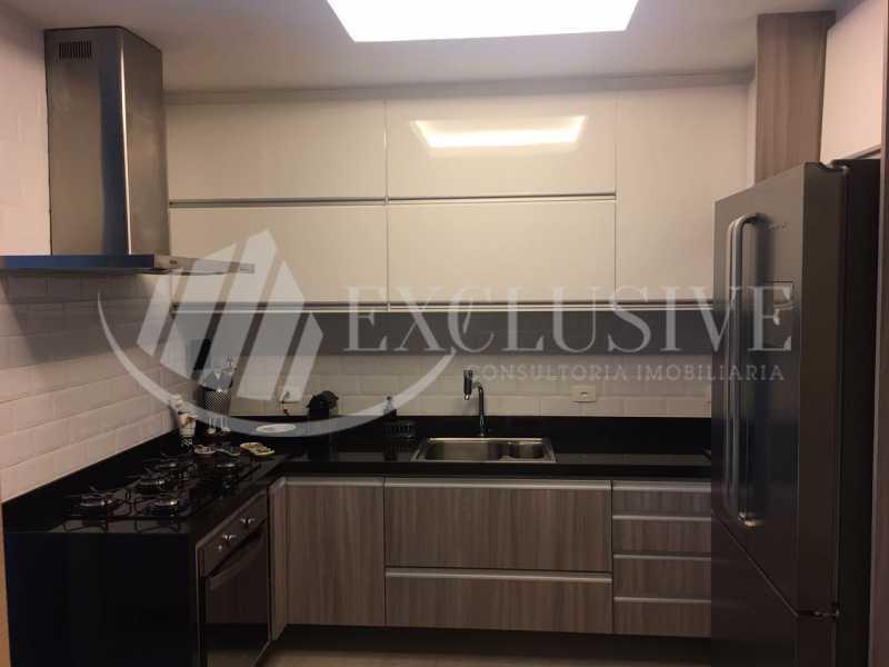 Cozinha - Apartamento à venda Rua Santa Clara,Copacabana, Rio de Janeiro - R$ 850.000 - SL2931 - 15