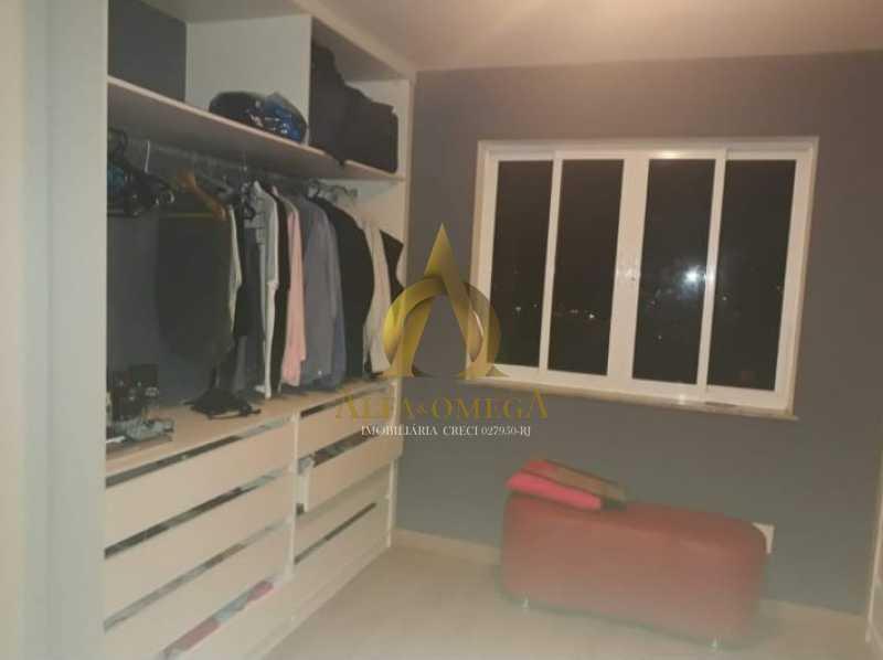 1 - Casa em Condomínio à venda Estrada do Cafundá,Taquara, Rio de Janeiro - R$ 450.000 - AOJ60046 - 7