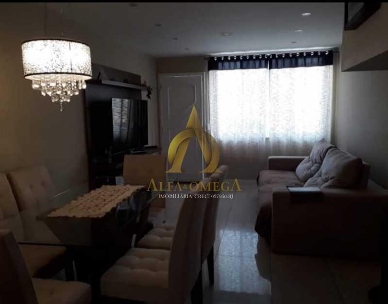 9 - Casa em Condomínio à venda Estrada do Cafundá,Taquara, Rio de Janeiro - R$ 450.000 - AOJ60046 - 1