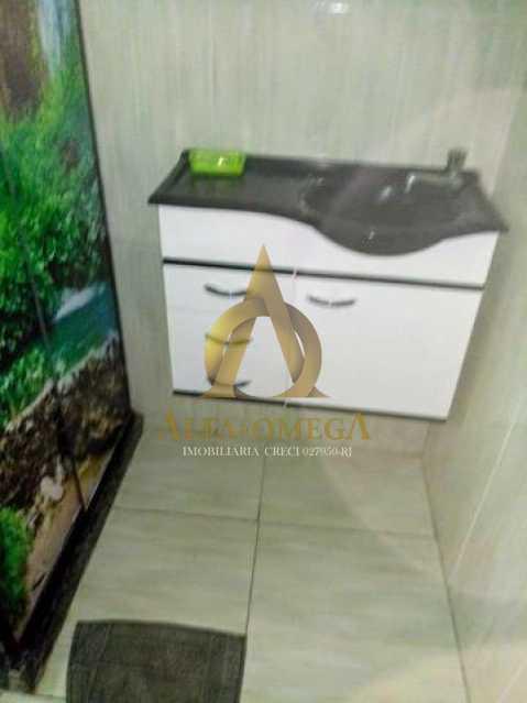 4 - Casa à venda Rua Itaicaba,Curicica, Rio de Janeiro - R$ 370.000 - AOJ60047 - 9