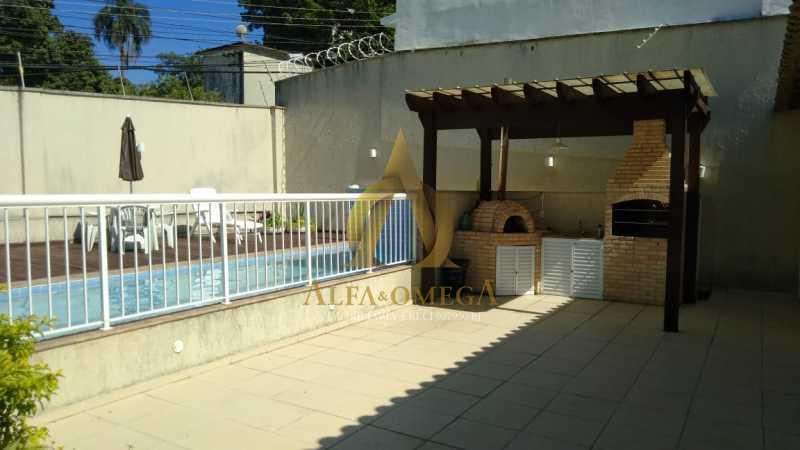 5 - Apartamento à venda Rua Imuta,Pechincha, Rio de Janeiro - R$ 199.000 - AOJ30025 - 23