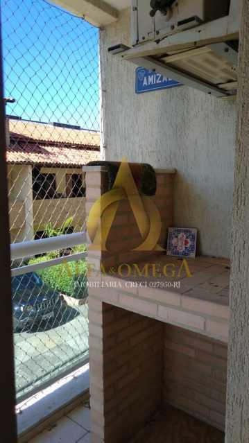24 - Apartamento à venda Rua Imuta,Pechincha, Rio de Janeiro - R$ 199.000 - AOJ30025 - 6