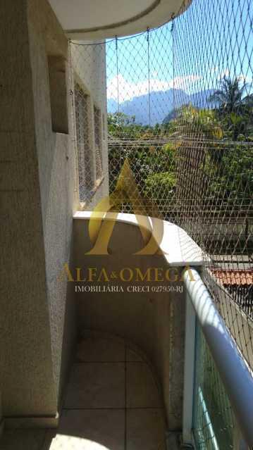 25 - Apartamento à venda Rua Imuta,Pechincha, Rio de Janeiro - R$ 199.000 - AOJ30025 - 7