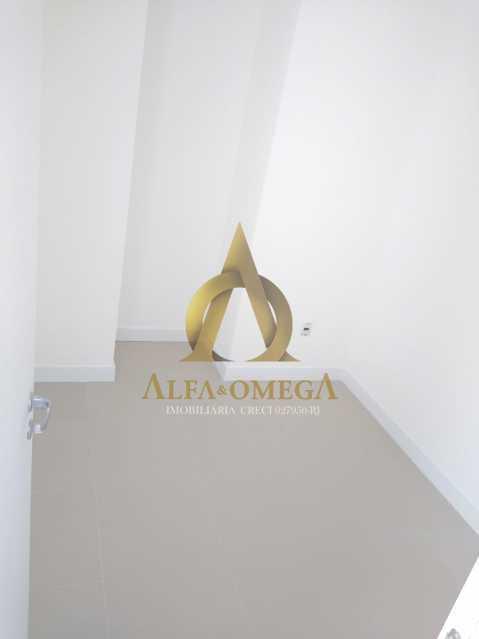 2 - Apartamento à venda Rua Araguaia,Freguesia (Jacarepaguá), Rio de Janeiro - R$ 860.400 - AOJ40006 - 9