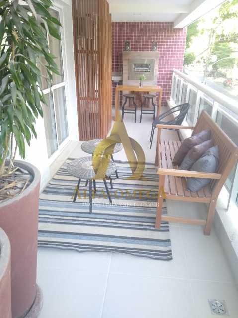 15 - Apartamento à venda Rua Araguaia,Freguesia (Jacarepaguá), Rio de Janeiro - R$ 860.400 - AOJ40006 - 3