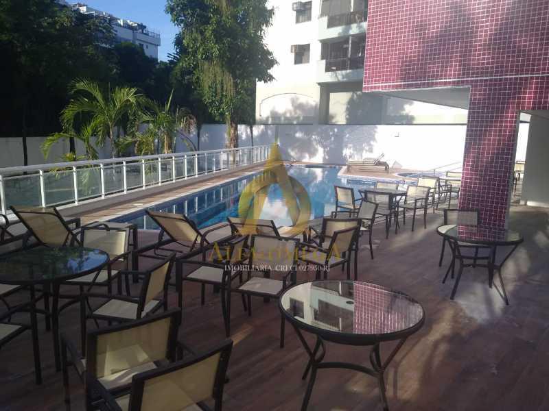 18 - Apartamento à venda Rua Araguaia,Freguesia (Jacarepaguá), Rio de Janeiro - R$ 860.400 - AOJ40006 - 17